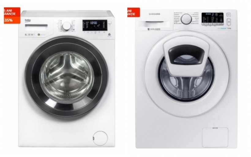 eMAG discount washing machines. 10 deals-bomb before Black Friday 2017