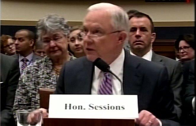 Procurorul general al Statelor Unite, audiat în Congres