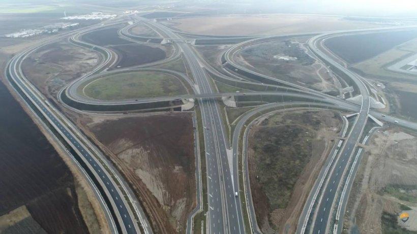 Imaginile pe care nu credeai că le vei vedea în România. Cum arată cel mai mare nod rutier - FOTO și VIDEO