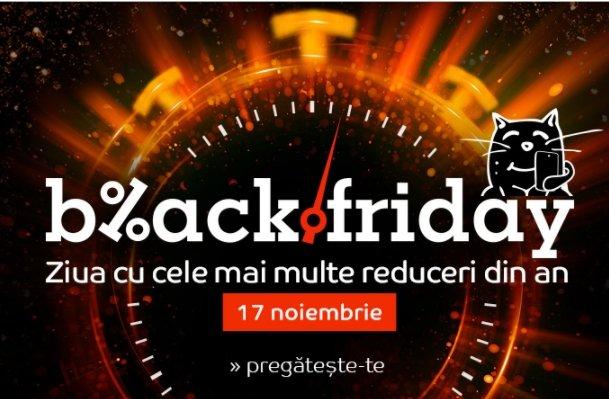 eMAG Black Friday 2017. 2 milioane de produse la reducere