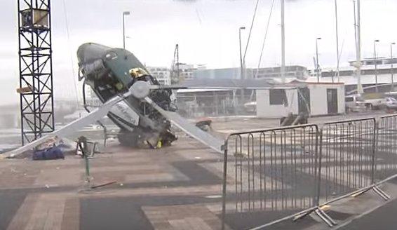 Accident aviatic la Londra. Mai multe persoane au murit, după ce un avion a intrat în coliziune în zbor cu un elicopter