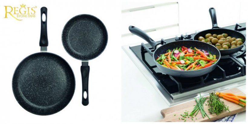 AloShop BLACK FRIDAY! Tigăi REGIS STONE de la Chefi la cuțite și super aspiratoare la preț MINIM: 150 de lei