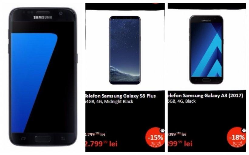 Black Friday 2017 eMAG telefoane – Samsung S8 si S7: Perfectiunea e acum accesibila