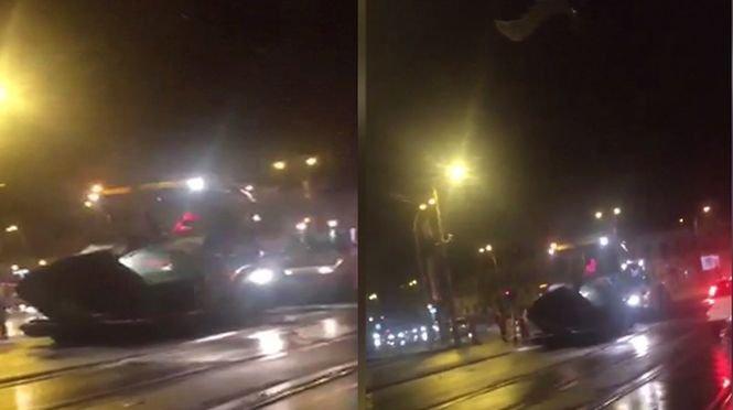 """Ce s-a întâmplat vineri dimineaţa într-una dintre cele cele aglomerate intersecţii din Capitală. """"E bătaie de joc!"""" - VIDEO"""