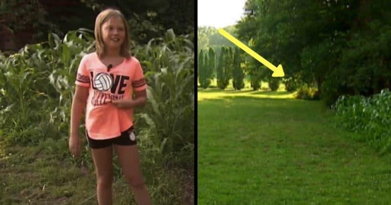 """Descoperirea incredibilă făcută de o fetiță de nouă ani! O voce i-a cerut să iasă în grădină și să caute prin iarbă. """"E un miracol! Dumnezeu mi-a trimis fiica acolo!"""""""