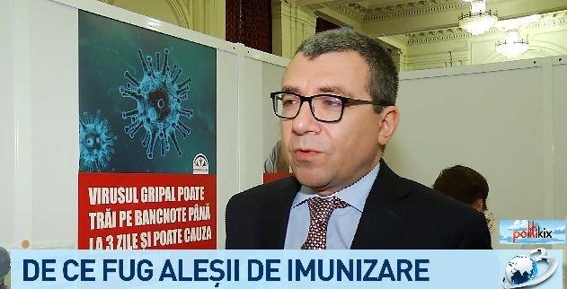 Șocant! Parlamentarii nu vor imunitate...în fața gripei