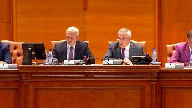 Călin Popescu Tăriceanu și Liviu Dragnea, invitați la Cotroceni