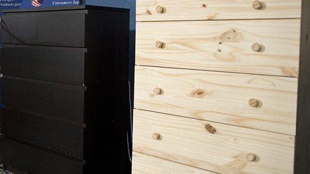 Ikea face un apel către clienții care au cumpărat dulapuri, după ce opt copii și-au pierdut viața