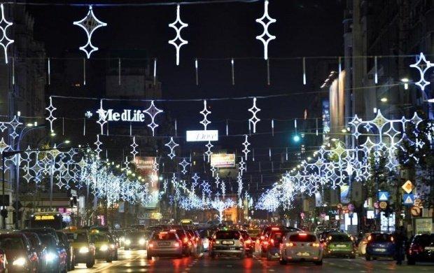 Când se aprind luminile de sărbători în București