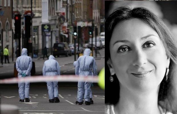 Opt suspecți au fost reținuți, în cazul morții jurnalistei Daphne Caruana Galizia