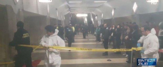 """Mărturia mecanicului metroului care a lovit o tânără în staţia Dristor 1: """"Te simţi neputincios, frânezi şi trenul se nu poate opri instantaneu"""""""