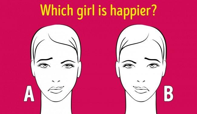 Test rapid de personalitate: Care fată este mai fericită?