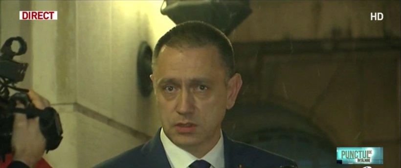 Premierul interimar, în vizită la MAI. Ce a spus Mihai Fifor, despre eventuala demitere a şefului Poliţiei Române, Bogdan Despescu