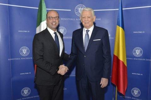 Teodor Meleșcanu, după discuția avută cu ministrul italian: Am convenit să pregătim o nouă ședință comună de guvern