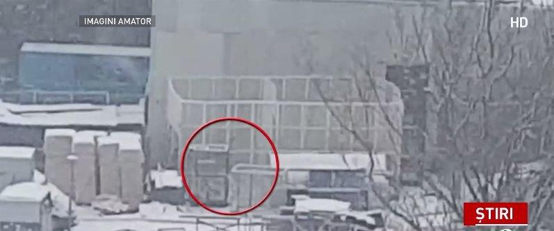 Un leu și doi tigri ținuti captivi, în frig și ninsoare, în curtea Circului Globus din Capitală - VIDEO. Reacția viceprimarului