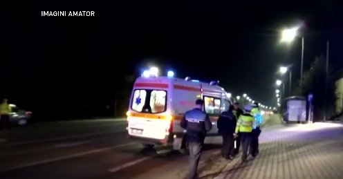 Accident grav provocat de un militar băut. A lovit un salvator ISU și a fugit de la locul faptei