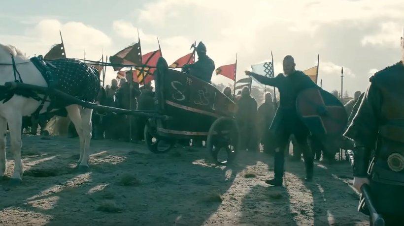 """Dezvăluirile unui român care a apărut în cunoscutul serial """"Vikings"""""""