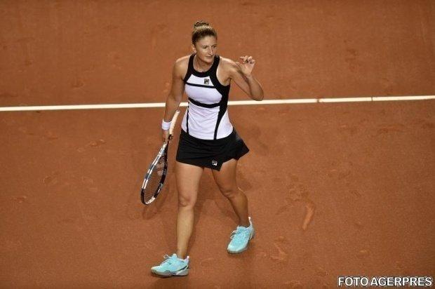 """Irina Begu, despre motivele pentru care nu a putut termina meciul în două seturi: """"Îmi pare rău"""""""