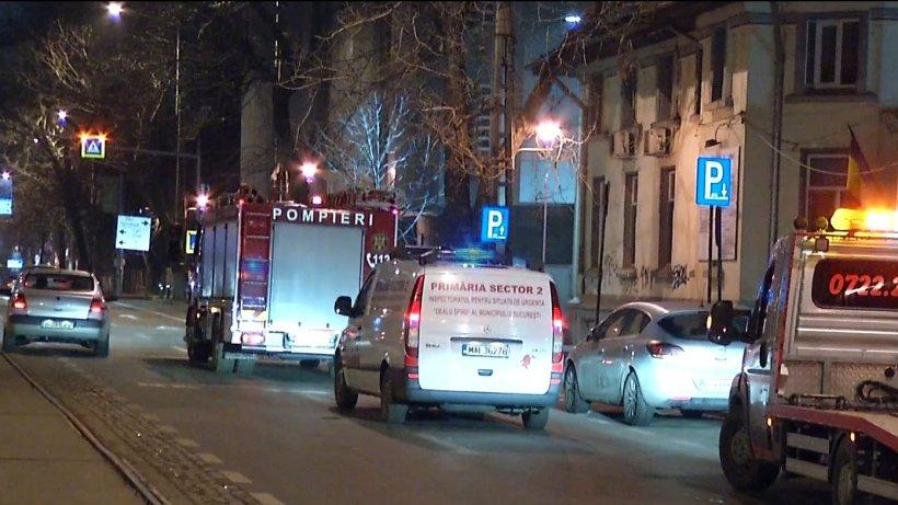 Șef din Poliţia Locală a Sectorului 3 Bucureşti, băut la volan. Polițistul s-a răsturnat cu mașina de serviciu