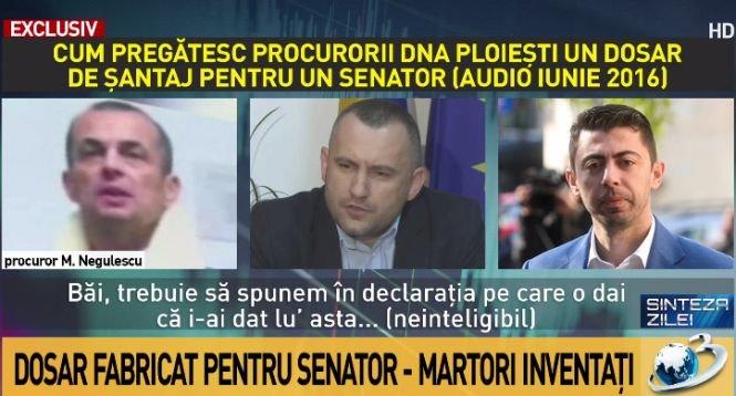EXCLUSIV. Cum au pregătit procurorii DNA Ploiești un dosar de șantaj pentru senatorul Daniel Savu