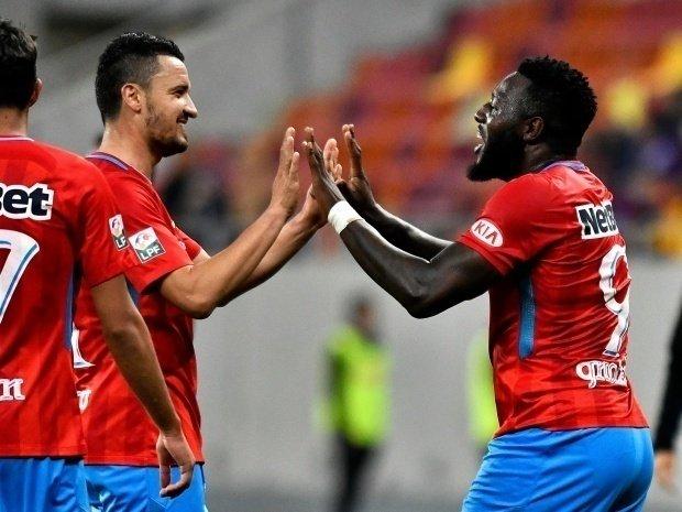 FCSB-LAZIO ROMA 1-0. Victorie uriașă pentru Steaua lui Dică