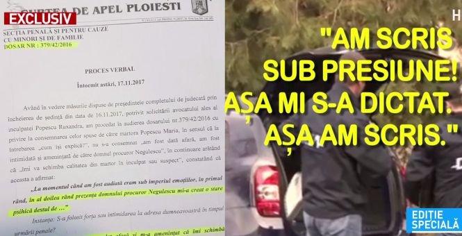 EXCLUSIV. Mărturia șocantă a unei judecătoare. Abuzurile pe care procurorul Mircea Negulescu le-a comis în cazul său