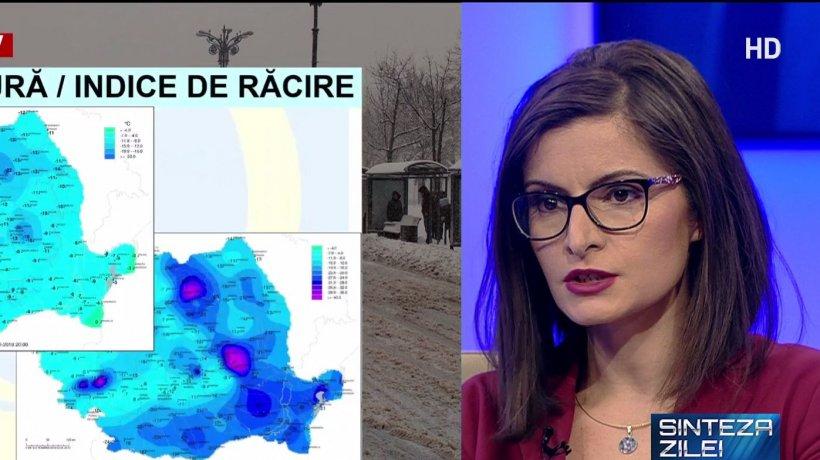 Meteorologul Gabriela Băncilă, noi detalii despre vreme. Ce se va întâmpla în următoarele ore