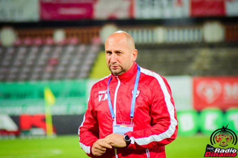 Vasile Miriuţă, dat afară de la FC Dinamo. Cine este noul antrenor al clubului din Ștefan cel Mare