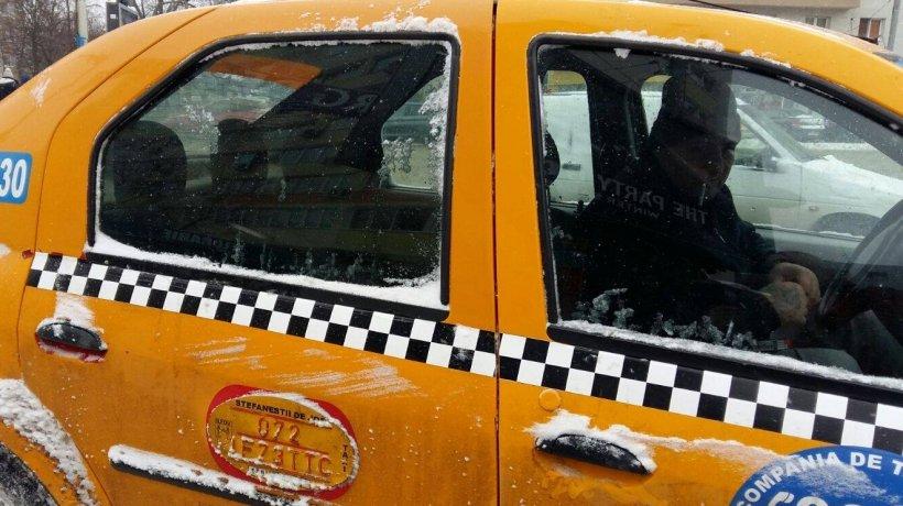 Imagini revoltătoare în Capitală! Motivul pentru care un medicde la Floreasca a fost lovit de un taximetrist