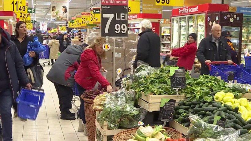 Primăvara aduce un nou val de scumpiri. Cel mai mult vor creşte preţurile la produsele alimentare