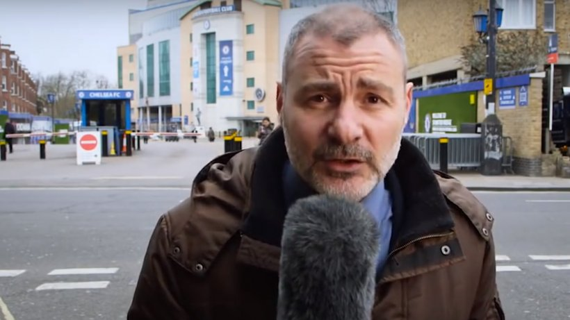 Imagini incredibile! Ce a păţit un reporter în timp ce transmitea în direct - VIDEO