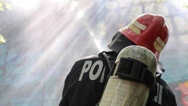 Incendiu de vegetație în Râmnicu Vâlcea.Un areal natural unic a ars aproape complet