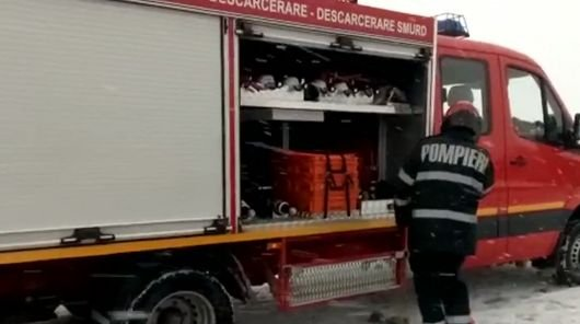 Accident cumplit în Vrancea în care au fost implicate două autoturisme. Cinci victime, printre care și un copil de trei ani