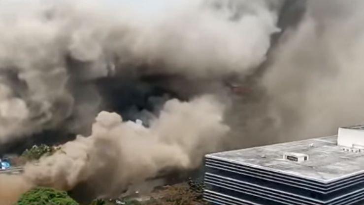 Incendiu puternic la un hotel din Filipine. Cinci morți și zeci de răniți