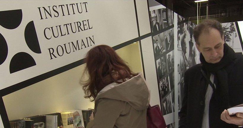 Institutul Cultural Român, la Târgul de Carte de la Paris