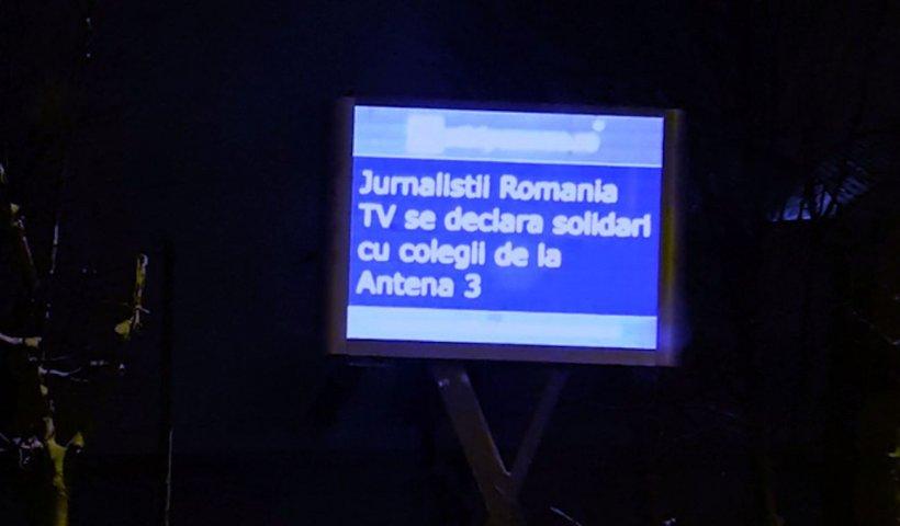 Val de solidaritate cu Antena 3, după sentinţa primită în dosarul intentat de şefa DNA