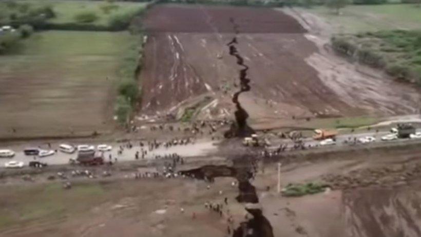 Alarmant! Ţara care riscă să se desprindă de continent - VIDEO