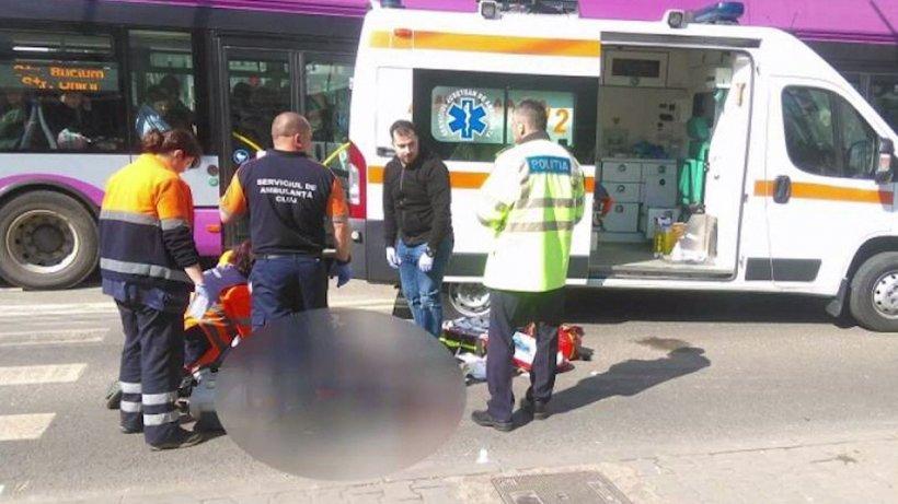 Tragedie în Cluj! Un copil surdo-mut, omorât de o ambulanță