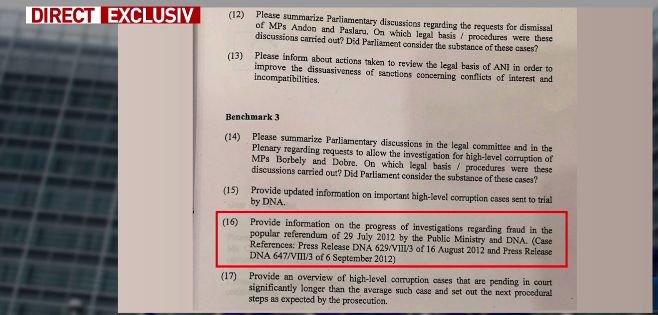 Document: Dosarul Referendumului, pe lista neagră