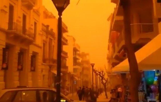 Un nou nor de praf saharian ajunge în România