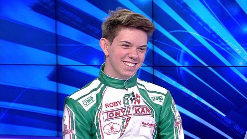 Eroul Zilei. Tânărul care unește lumea prin sport. Roberto, campionul României la karting