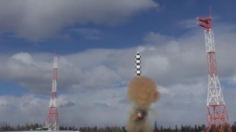 Rusia a testat o rachetă de 100 de tone care poate atinge teritoriul continental al SUA - VIDEO