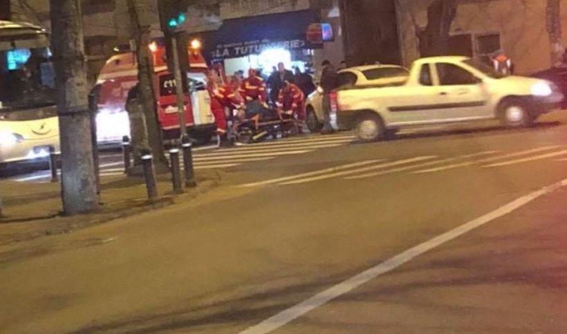 """SPP, prima reacție în scandalul """"Accidentul"""". Un ofițer SPP a lovit o persoană pe trecearea de pietoni"""
