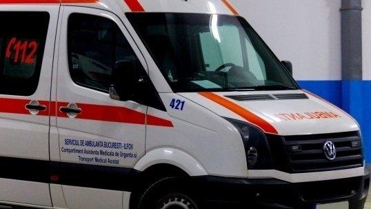 Accident de muncă în timpul lucrărilor pentru mall-ul din Sibiu. O schelă a căzut peste muncitori