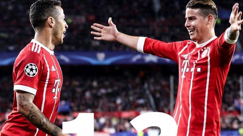 Bayern Munchen a câştigat la Sevilla cu 2-1, în sferturile Ligii Campionilor