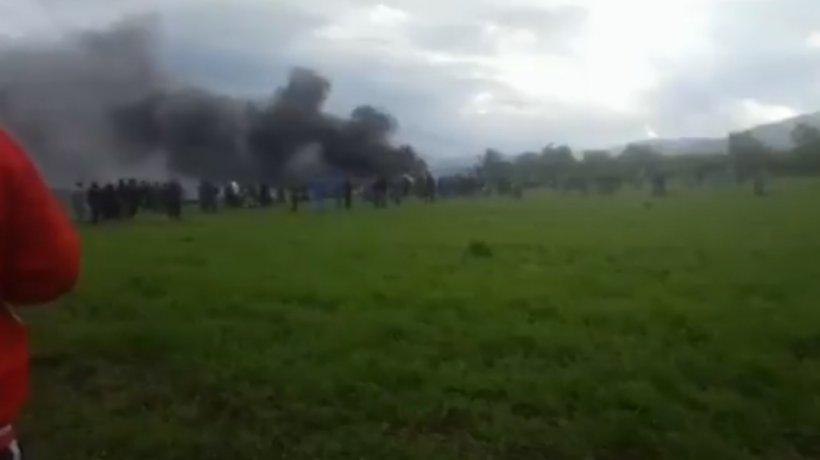 Peste 250 de oameni au murit, după ce un avion militar s-a prăbușit în Algeria - VIDEO