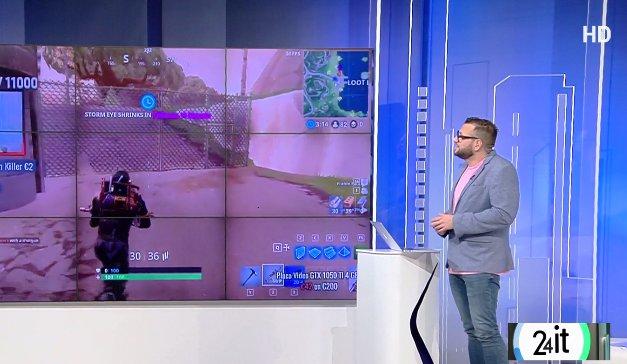24 IT. Jocul de pe telefon care se transformă în fenomen: Fortnite Battle Royale