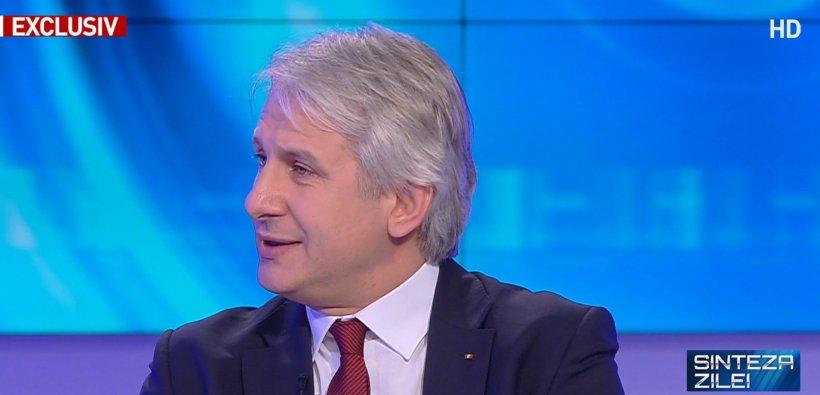 """Eugen Teodorovici, la """"Sinteza Zilei"""": Nu este niciun pericol pentru pensiile oamenilor"""