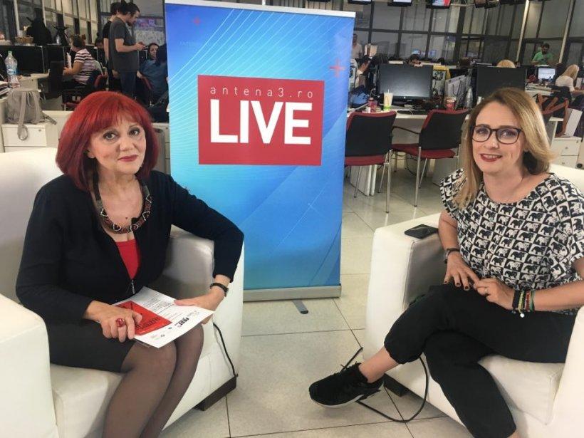 ANTENA3.RO LIVE. Despre teatru, alături de Marinela Țepuș, director Nottara