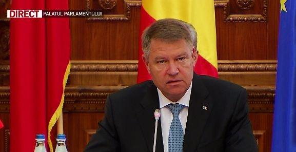 """Iohannis: """"România susține ferm dezvoltarea parteneriatului dintre NATO și UE"""""""